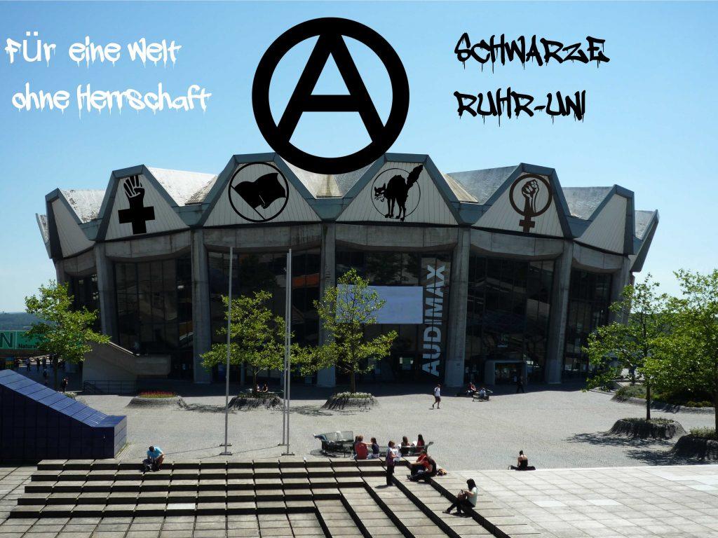 Für eine Welt ohne Herrschaft, Schwarze Ruhr-Uni
