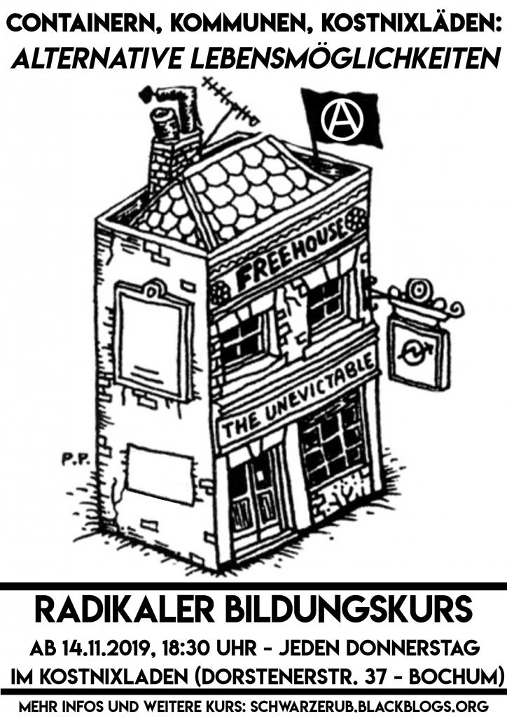 Radikaler Bildungskurs: Containern, Kommunen und Kostnixläden - Alternative Lebensmöglichkeiten
